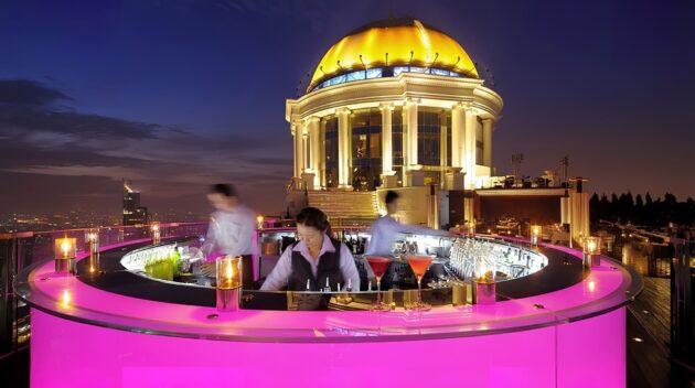 Les 5 meilleurs rooftops où boire un verre à Bangkok