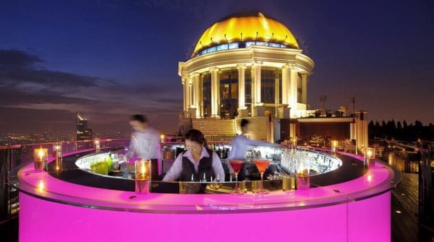 Les 5 meilleurs rooftops bars de Bangkok