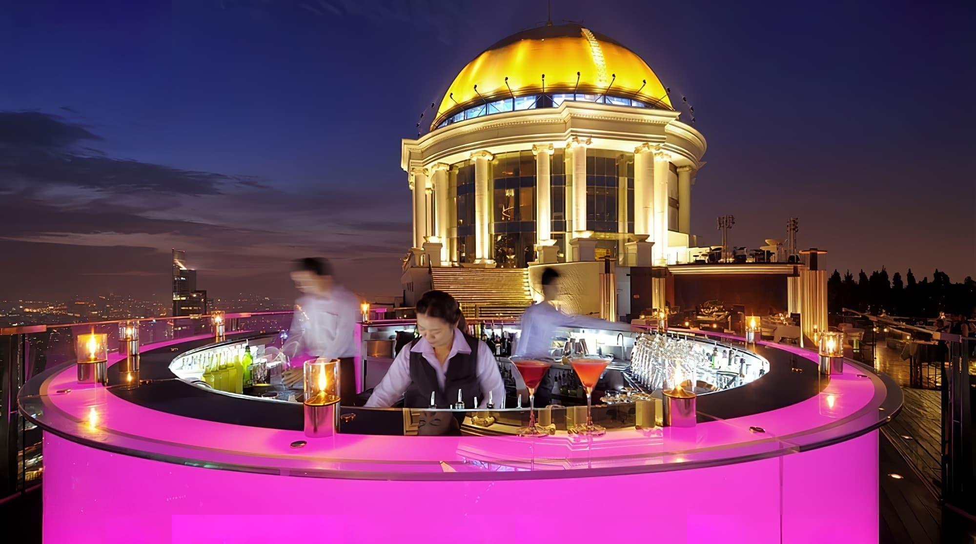 Meilleurs rooftops bar de Bangkok