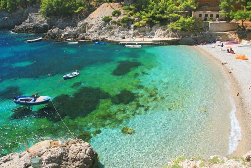 Mljet Island, Croatie