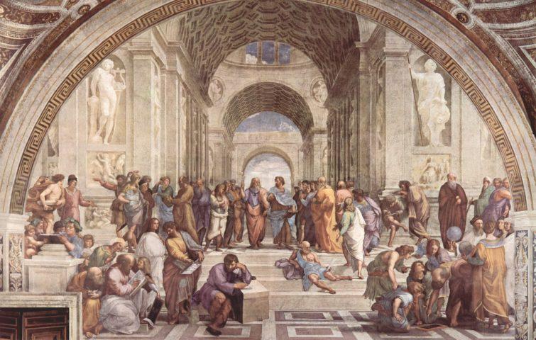 L'école d'art d'Athènes, Musées du Vatican