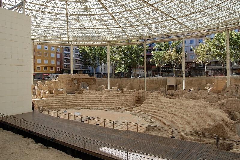 Incontournables Saragosse, musée theatre romain