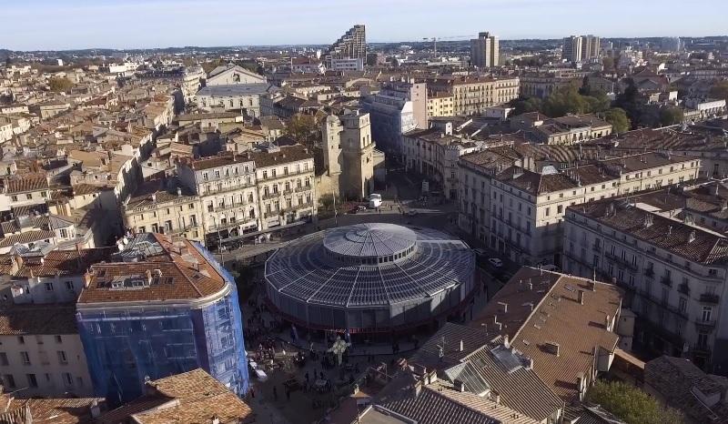 Nouvelles Halles Laissac de Montpellier