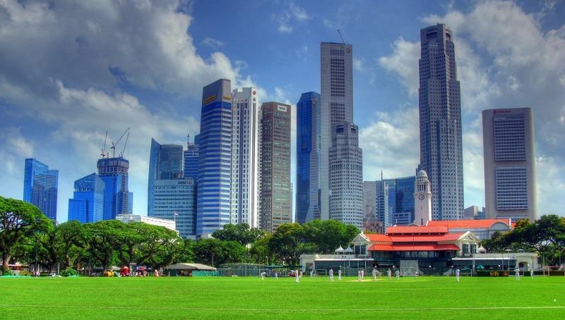 Padang, Singapour