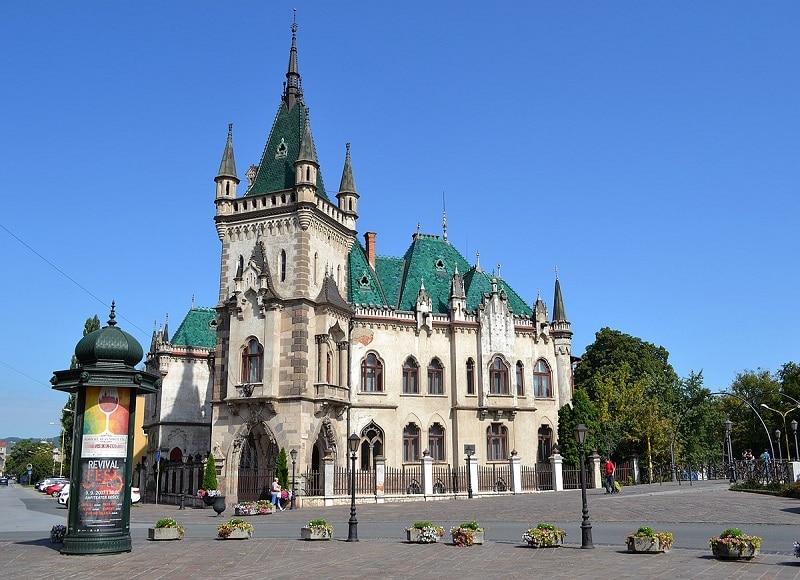 Visiter Kosice, palais