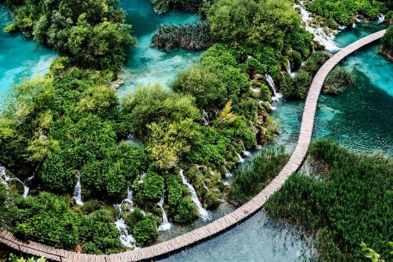 Lac de Plitvice, Croatie