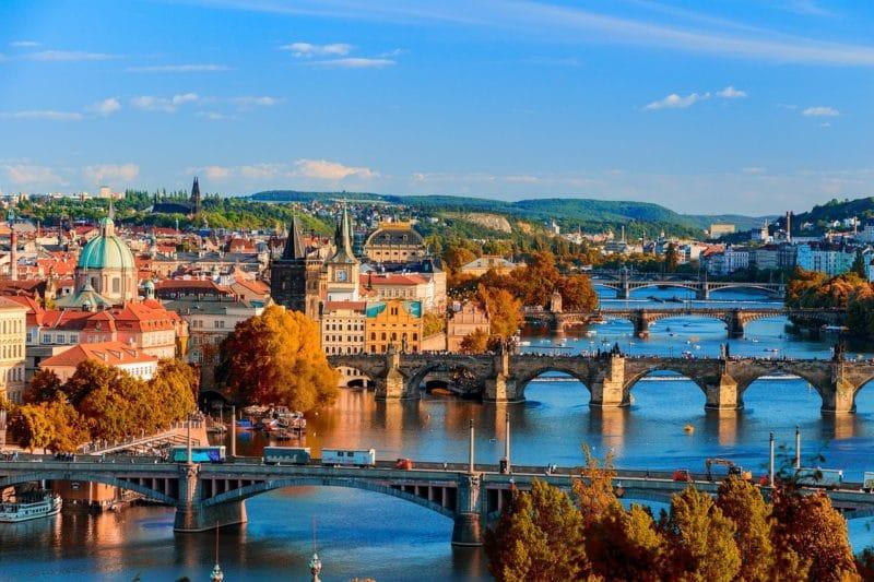 Croisière Vlata, Prague