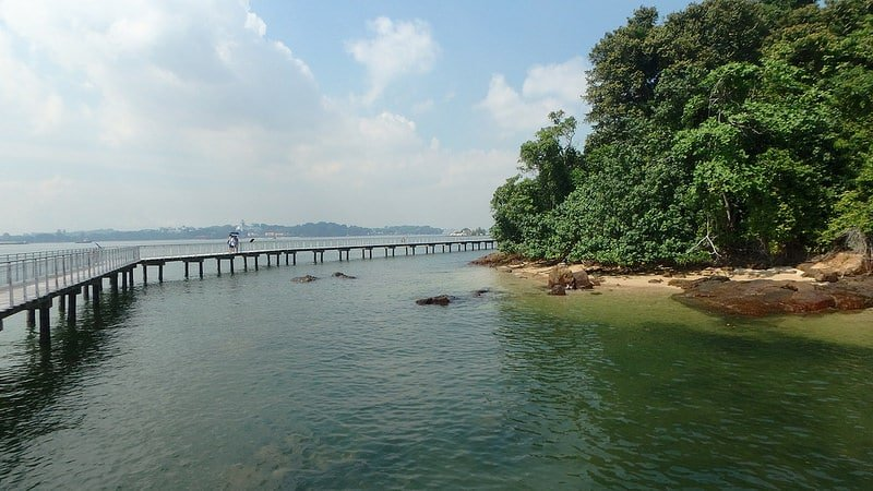 Pulau Ubin, Singapour