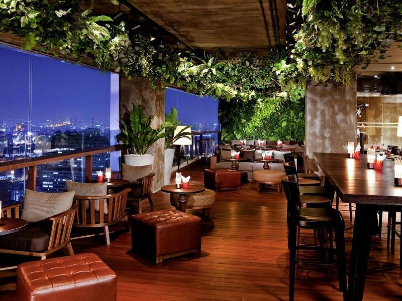 Scarlett, rooftop bar à Bangkok