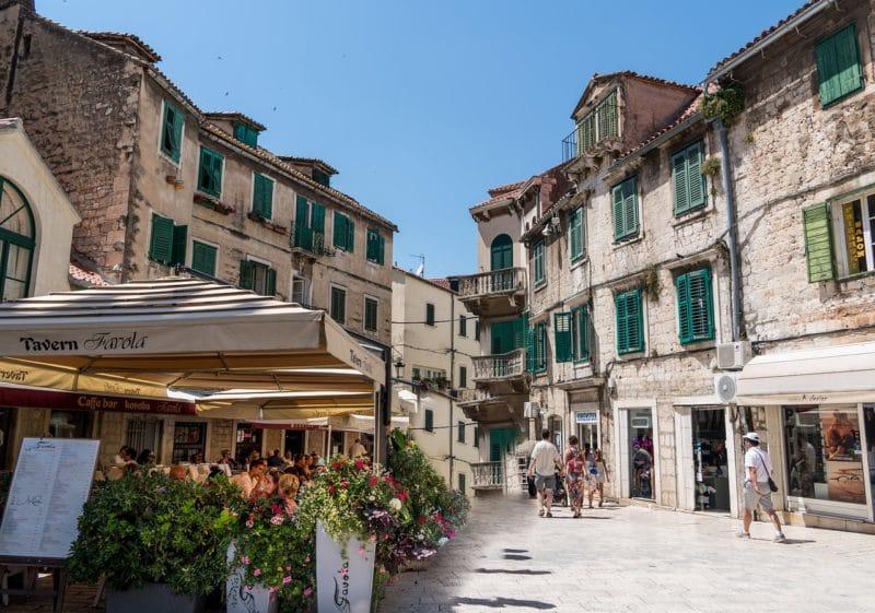 Loger, centre historique Split