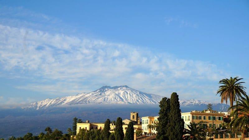 Taormina, l'Etna