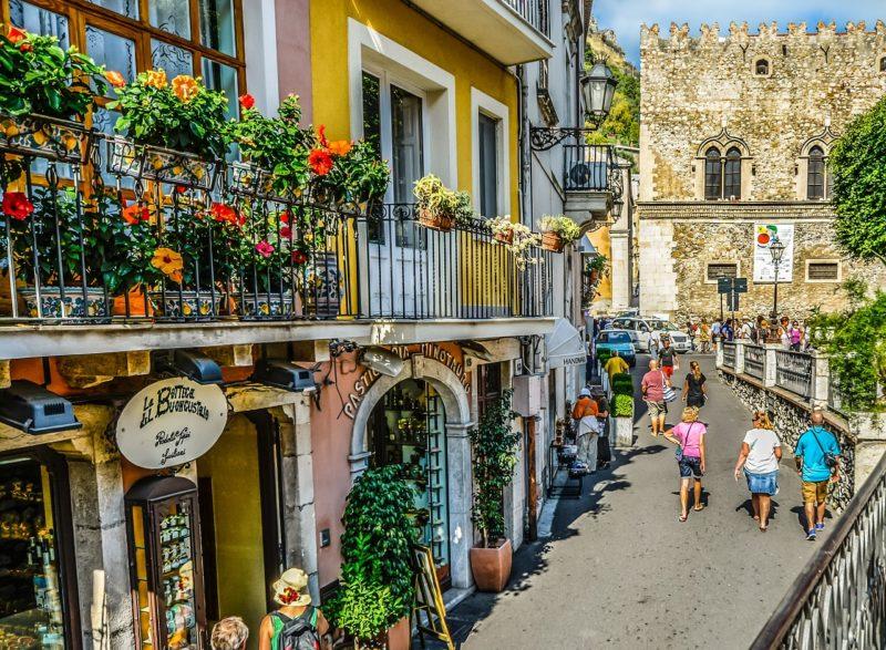 Taormine, la vieille ville