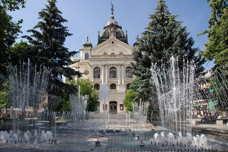 Visiter Kosice, theatre national