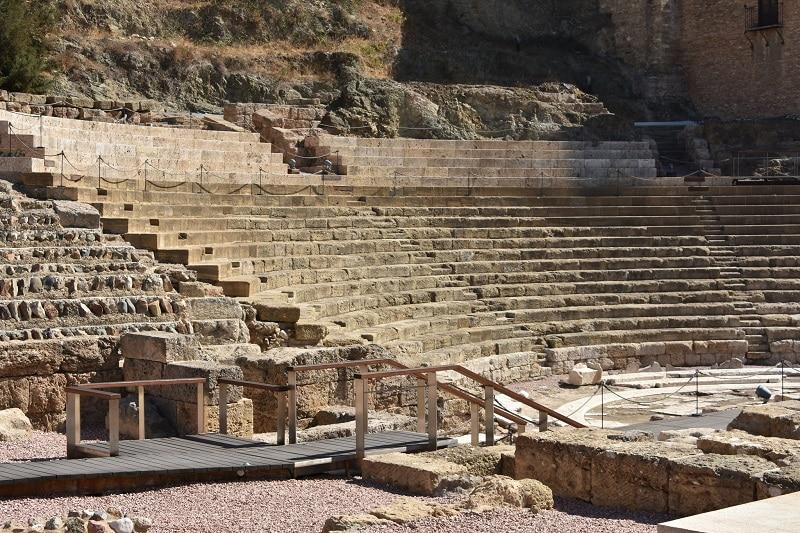 Visiter Malaga, théâtre romain
