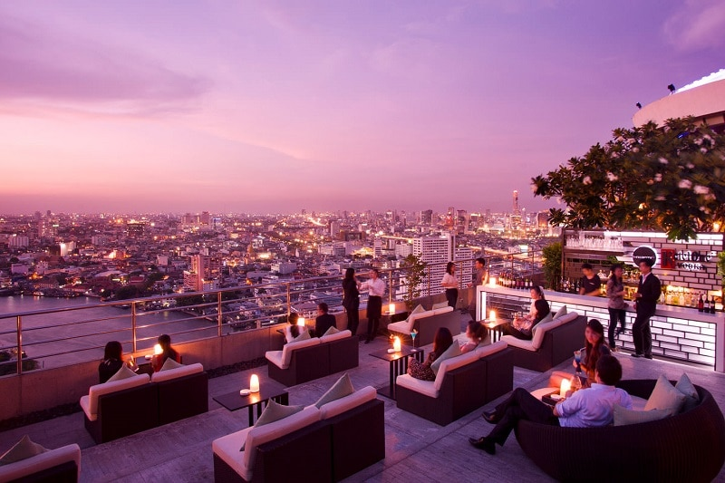 Three Sixty, Rooftop bar, Bangkok
