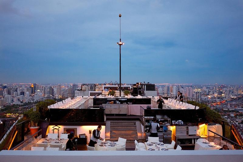 Vertigo, rooftop bar, Bangkok