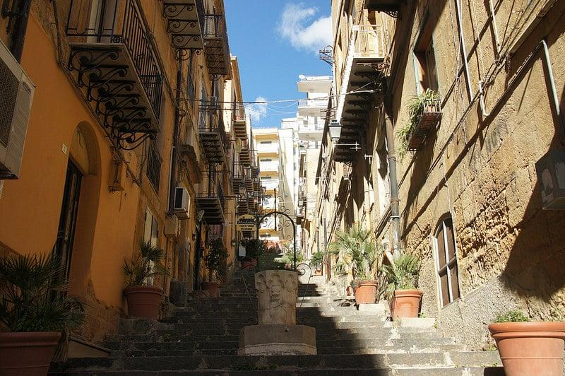 Vieille-ville d'Agrigente