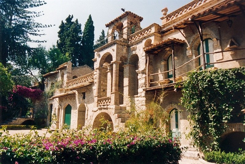 Taormina, villa communale
