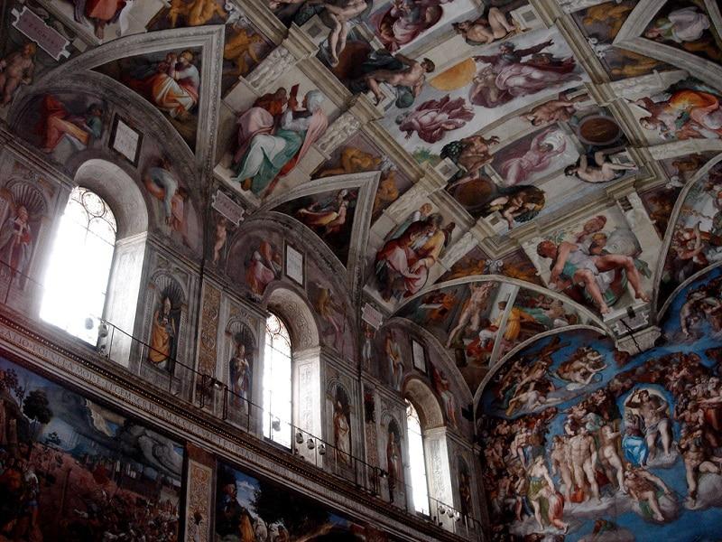 Visite de la Chapelle Sixtine