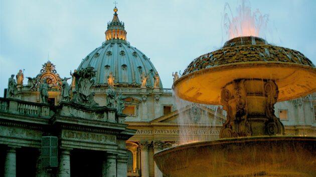 Visiter la Basilique Saint-Pierre et sa coupole au Vatican