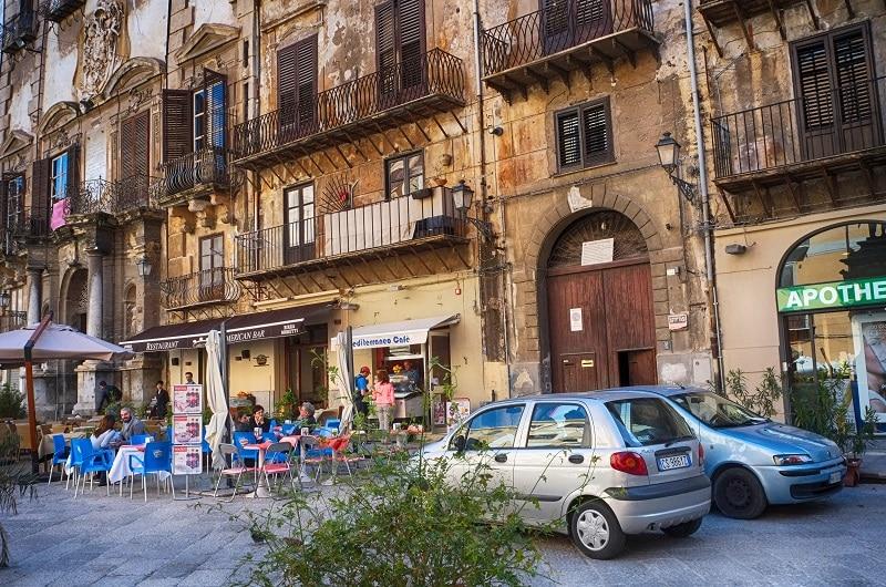 Voiture de location à Palerme, prix