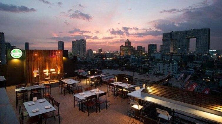 Water Y, rooftop bar, Bangkok