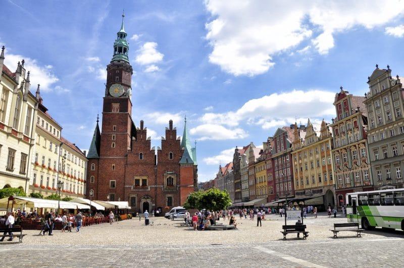 Loger Wroclaw, vieille ville et place du marché