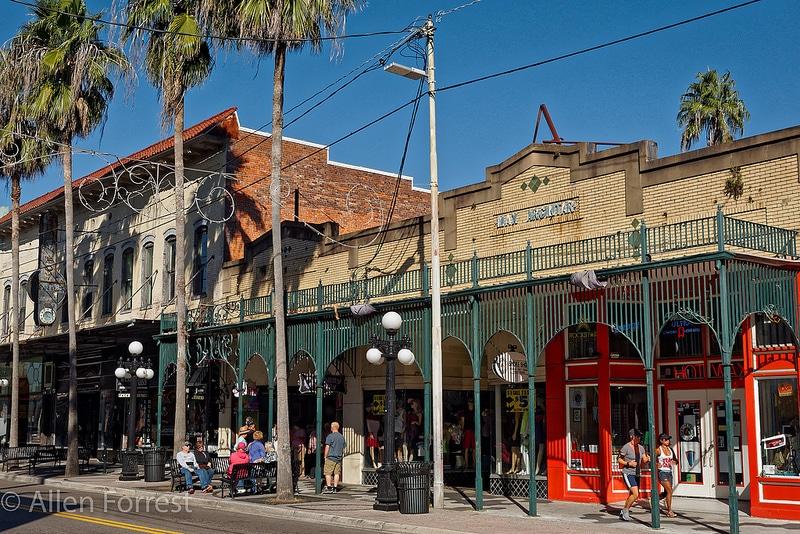 Ybor City, loger à Tampa