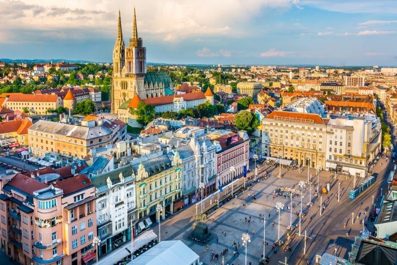 Zagreb, Croatie
