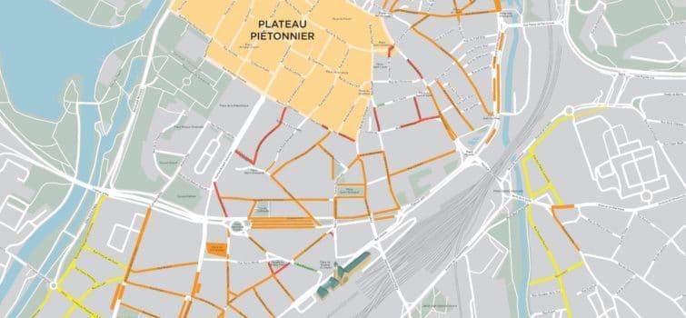 Zones de stationnement à Metz