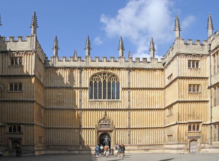 Bodleian Library à Oxford