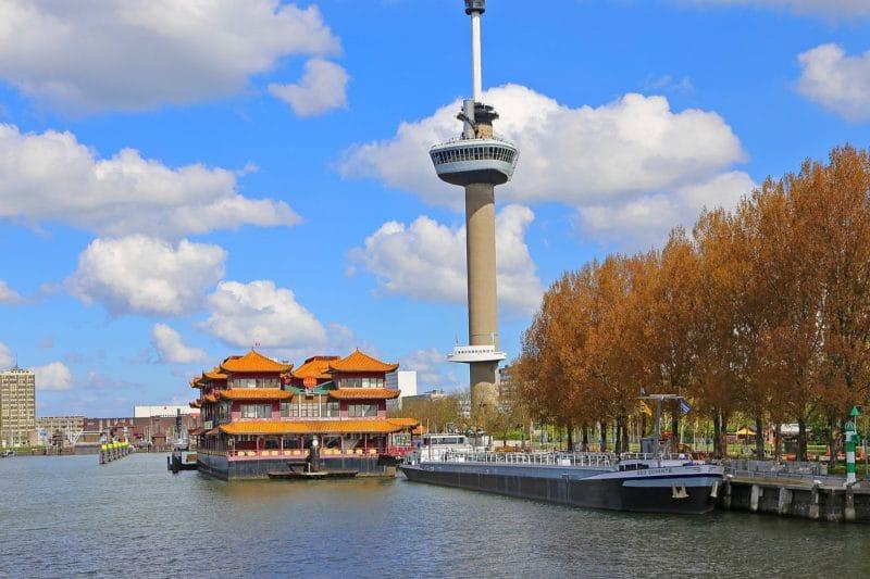 La tour Euromast, Rotterdam