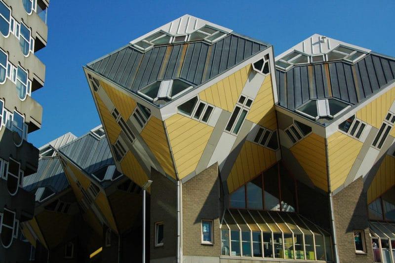 Kijk-Kubus, maison cube, Rotterdam