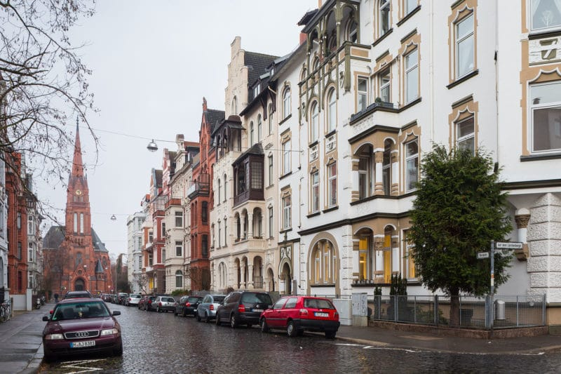 Quartier Oststadt, Hanovre