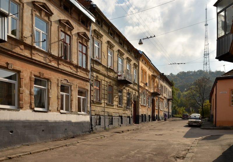 Quartier Pidzamche, Lviv, Ukraine