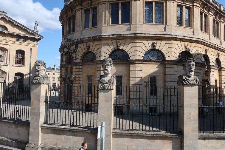 Sheldonian Theatre à Oxford