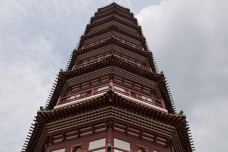 Temple des Six Banians, Guangzhou, Canton