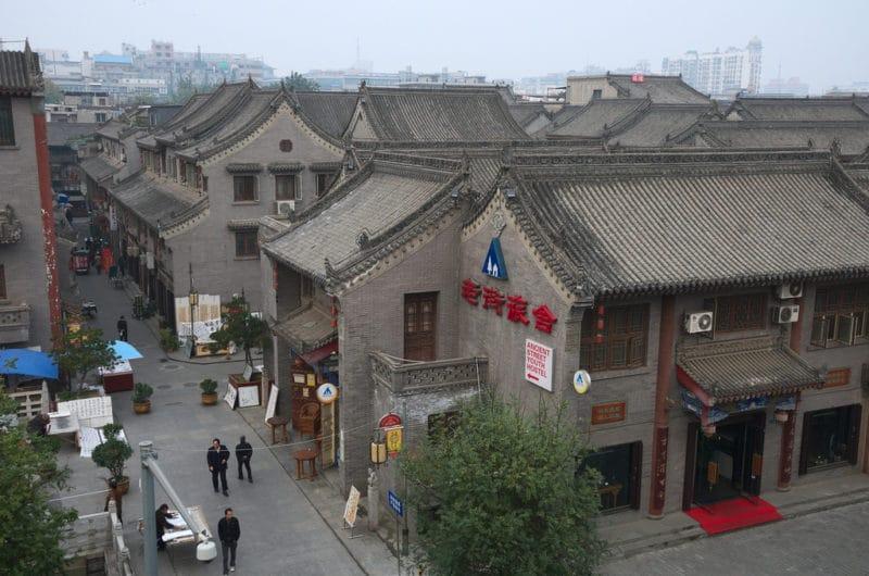 Quartier de la vieille ville, Xi'an, Chine