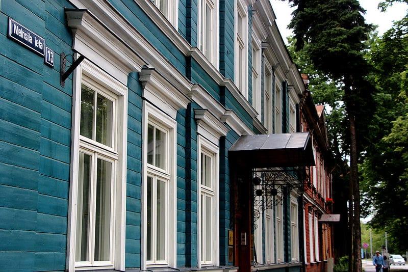Agenskalns, loger à Riga