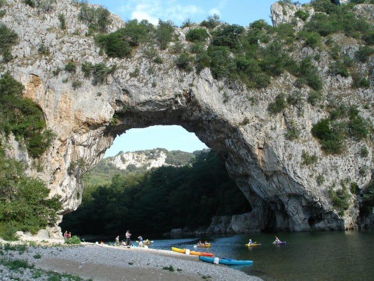 Ardèche, Pont d'arc, Canoe-Kayak
