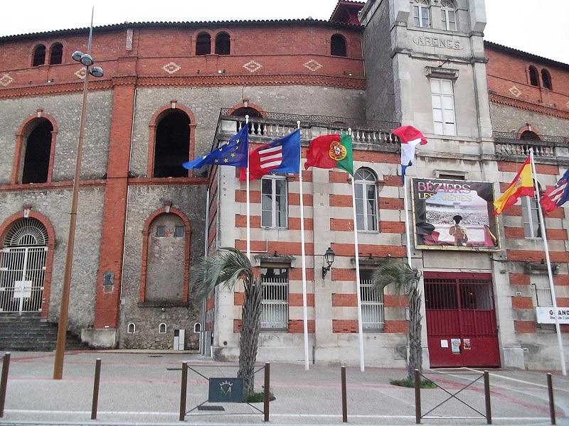 Visiter Béziers, les arènes