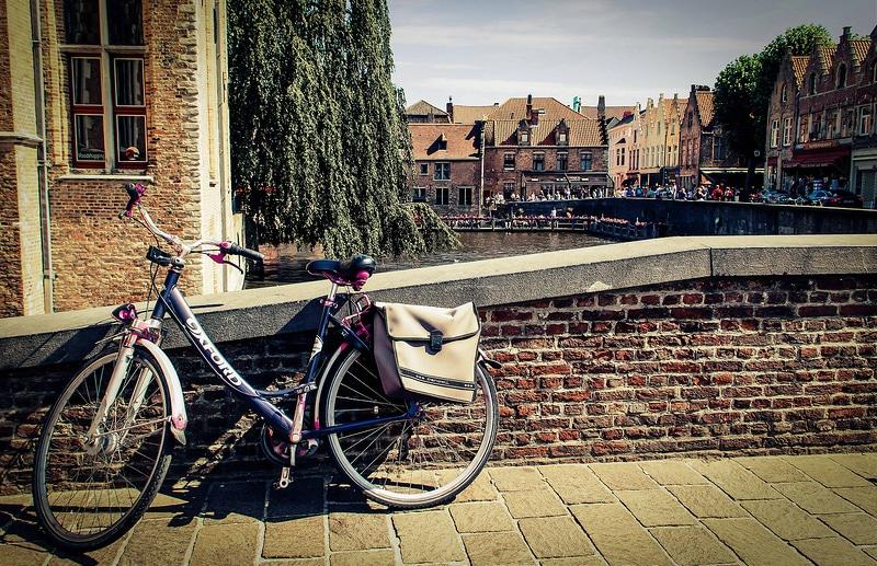Louer un vélo à Bruges