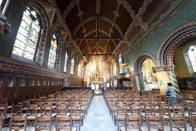 Basilique Saint-Sang, Intérieur, Bruges