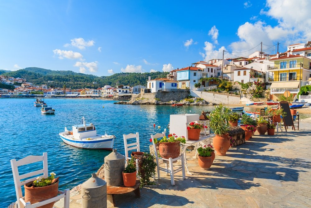Balade en bateau à Samos