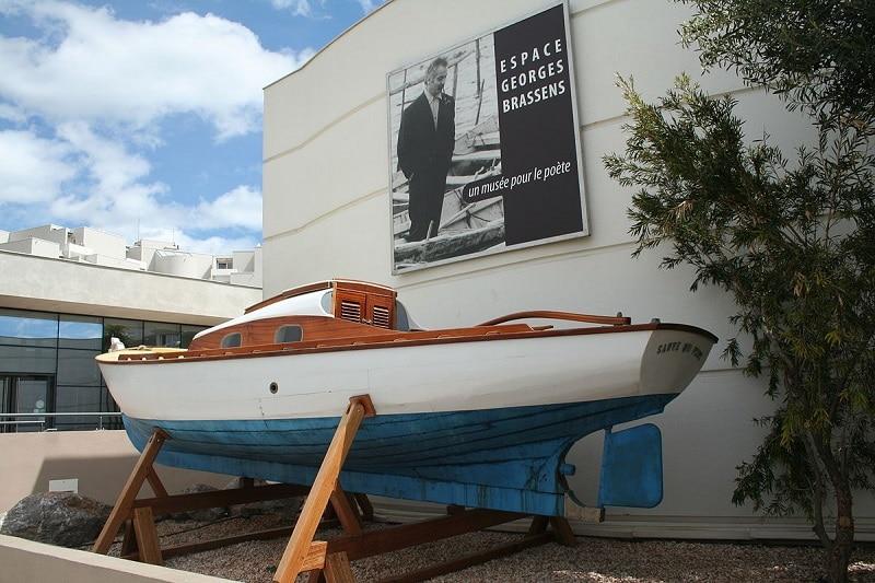 Visiter musée Georges Brassens, Sète
