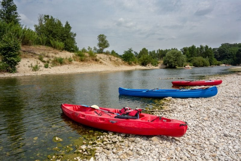 Piragüismo / kayak en el Hérault