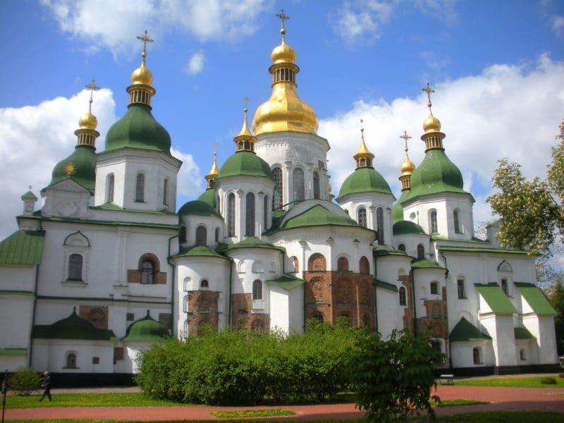 Cathédrale Sainte Sophie, Kiev