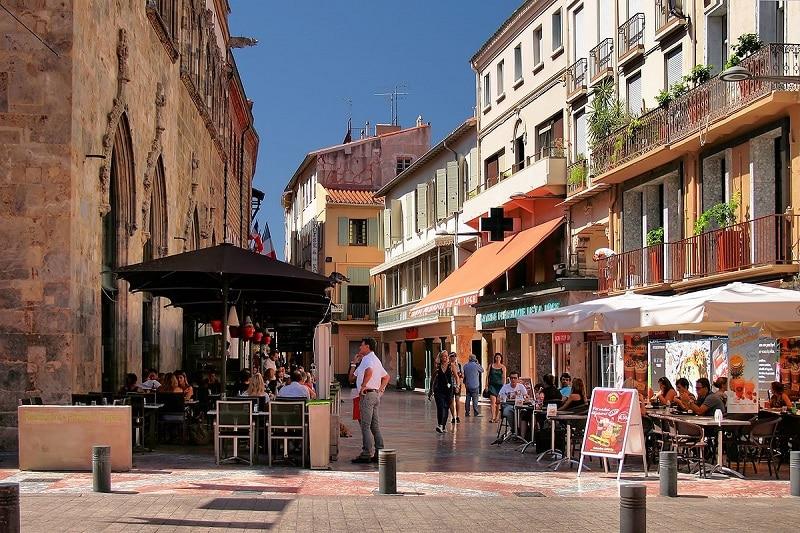 Visiter centre ville de Perpignan