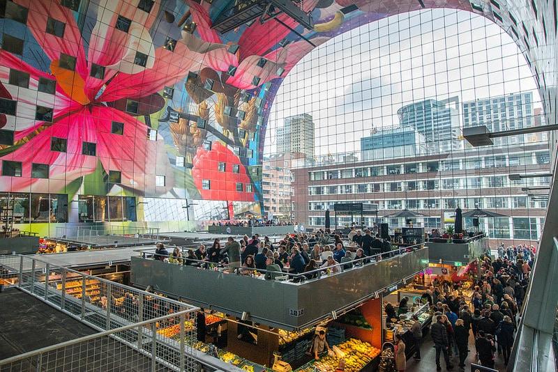 Quartier Centrum, Rotterdam, Pays-Bas
