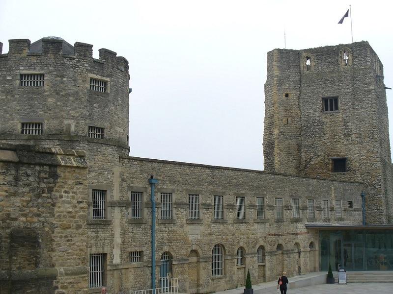 Château et prison d'Oxford